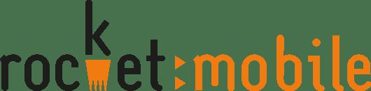 Rocket Mobile Logo - Black